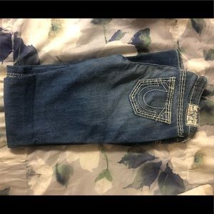 True religion straight leg jeans (womens)